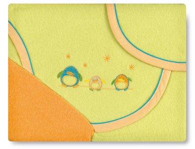 Bright Brands Sportsgoods 752040 Pirineo Parure de lit pour enfant Motif pingouin 06