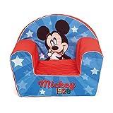 Arditex wd13021 sofá desenfundable de espuma 42x52x32cm de disney-mickey