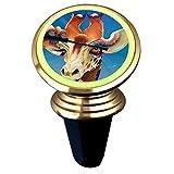 xcozu, supporto magnetico per cellulare da auto, con giraffa per applicare il mascara sulle sue ciglia, girevole a 360 gradi, per smartphone universali