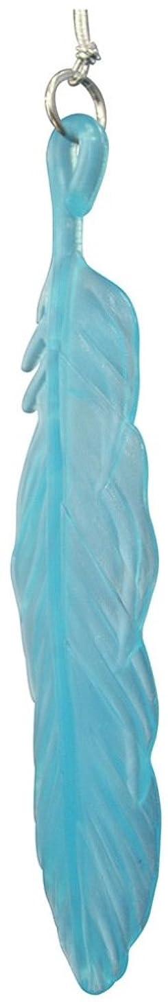 インタフェースベッド犠牲ノルコーポレーション 芳香剤 レイドバック フェザー エアーフレッシュナー 吊り下げ ウォーターブルー OA-LDK-0102