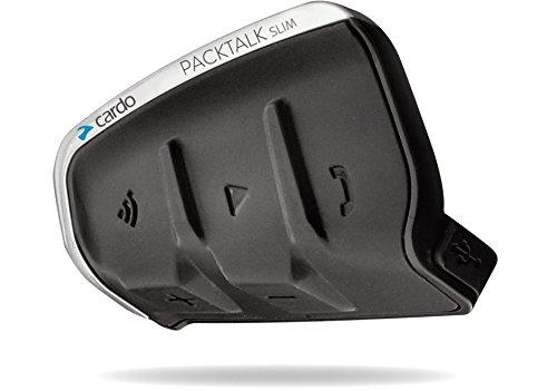 Cardo PTB00040 PACKTALK Special Edition Motorrad Bluetooth Kommunikations Headset - Schwarz, Einzelpackung