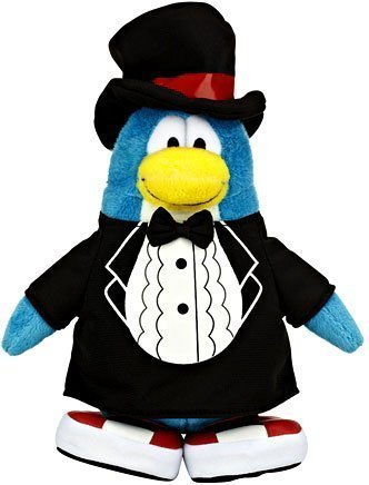Disney Club Penguin Classy T-Shirt Plush by Club Penguin (English Manual)