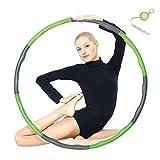 Espistmo Fitness Hula Hoop zur Gewichtsreduktion,Reifen mit Schaumstoff ca 1 kg Gewichten...