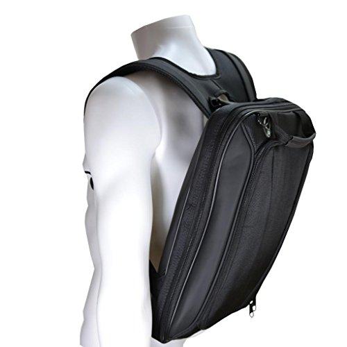 Negro mochila para portátil de doble solo bolso de hombro para lenovo Yoga 2Pro de 13,3'