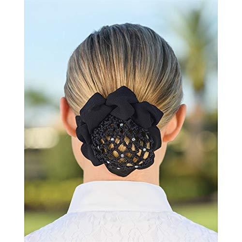 Dover Saddlery Hair Net Bun Cover - Black