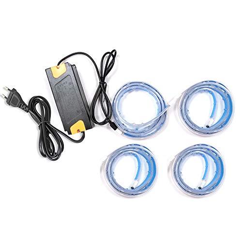 Zemismart Bande lumineuse à LED RGBW, Alexa Echo, IFTTT, Wifi, 2m, 4m, 6m, imperméable, minuteur, commande vocale.