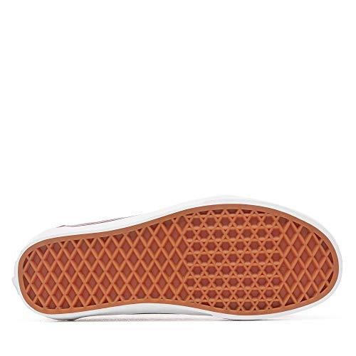 Vans Ward, Sneaker Donna, Rosso ((Canvas) Burgundy Olq), 38 EU