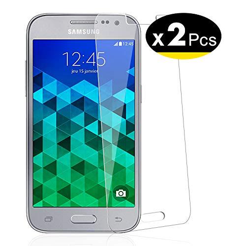 NEW'C 2 Pezzi, Vetro Temperato per Samsung Galaxy Core Prime (G360), Pellicola Prottetiva Anti Graffio, Anti-Impronte, Senza Bolle, Durezza 9H, 0,33mm Ultra Trasparente, Ultra Resistente