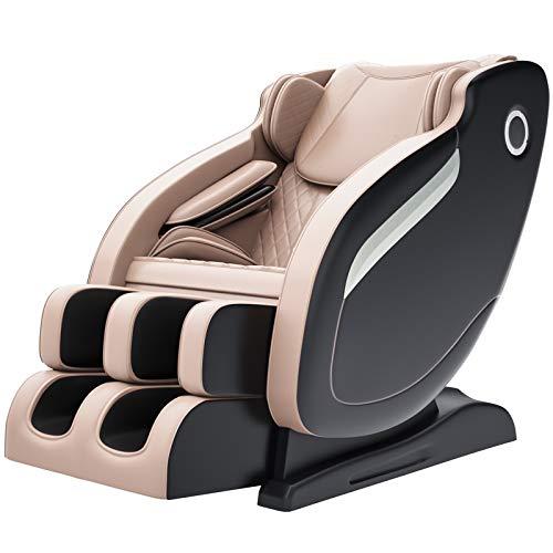 Real Relax Massage Chair, Thai Yoga Stretch 3D SL-Track Zero Gravity, Full Body Shiatsu Massage Chai