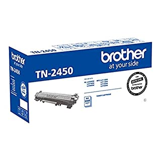 Brother Genuine TN2450 High-Yield Toner Cartridge, Black, Page Yield Up to 3000 Pages, (TN-2450) for use with: HL-L2350DW, HL-L2375DW, HL-2395DW, MFC-L2710DW, MFC-2713DW, MFC-2730DW, MFC-2750DW (B0779J4188)   Amazon price tracker / tracking, Amazon price history charts, Amazon price watches, Amazon price drop alerts