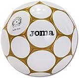 Joma Pallone Game Sala Hybrid Soccer Bianco Oro Calcetto Calcio a 5 Mis 62...