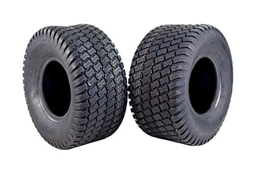 Tire 2 Set MASSFX New Leading Golf Cart Tires 18x9.5-8 MO18958 4PLY 5mm Tread