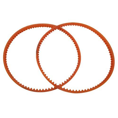 CKPSMS Marca -2 piezas #196388 correa de motor de máquina de coser compatible con/reemplazo para Singer Brand 1730, 1802, 900, 964, 966, 968