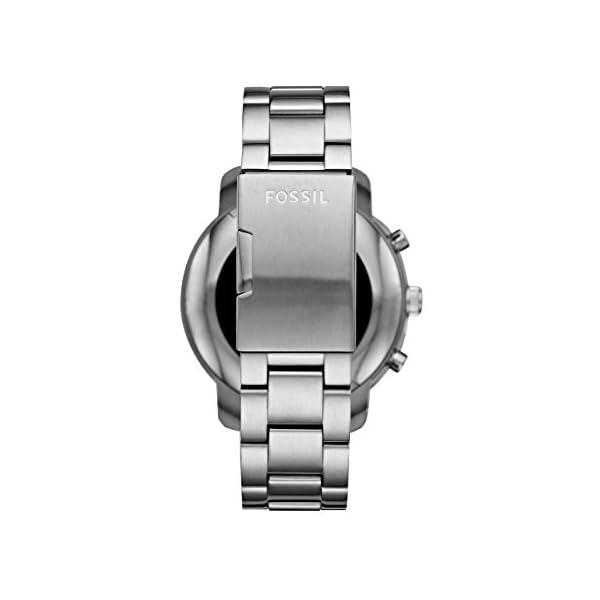 Reloj inteligente para hombre Fossil Q Explorist 3ª generación – Acero inoxidable – Impresionante reloj inteligente con… 5