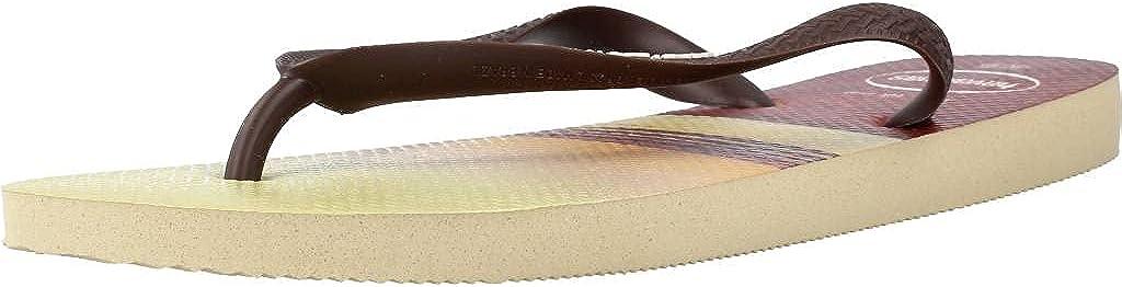 Havaianas Men's Flip Flop Sandals, White, 6/7 UK