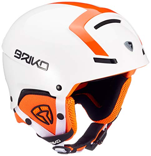 Briko Faito-Fluid Inside, Unisex-Erwachsene S A88White Orange Fluo