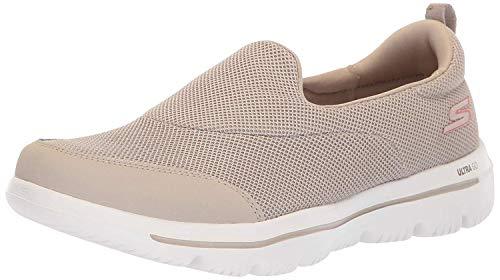 Skechers Damen Go Walk Evolution Ultra-reach Slip On Sneaker, Beige (Taupe Tpe), 36 EU