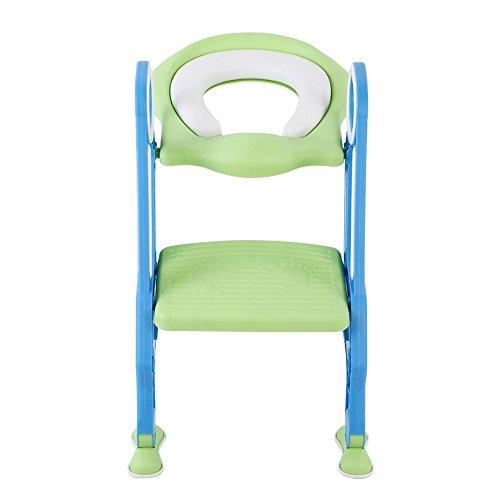 Nimoa Potty Trainer, Draagbare Baby Peuter Zachte Toiletstoel Ladder Kinderen Verstelbare Veiligheid Potty Training Seat