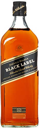 Johnnie Walker Black Label Scotch 12 Years Old Whisky (1 x 3 l)