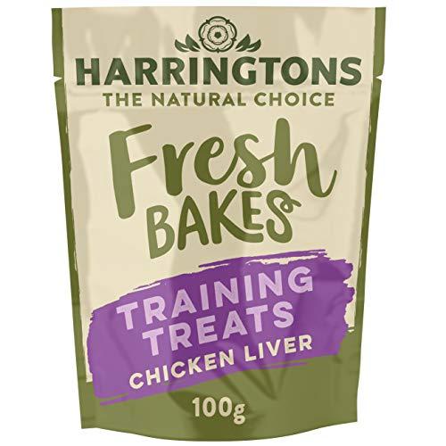 Harringtons Fresh Bakes Chicken Liver Dog Training Treats, 100g, Pack of 9