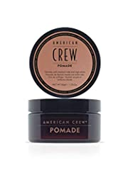 WHAT IT IS: A modern, flexible pomade for classic, slicked back looks or for control in any hair type. WHO IT'S FOR: Works well for all hair lengths and those with curly hair KEY BENEFIT: Provides medium hold and high sine KEY INGREDIENTS: Lanolin - ...