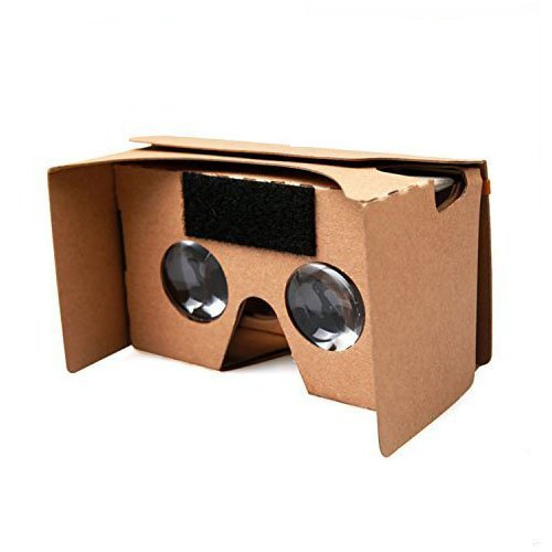 Discover Bargain Google Cardboard Kit, Ovinm Virtual Reality 3D Glasses for Smartphone with NFC and ...