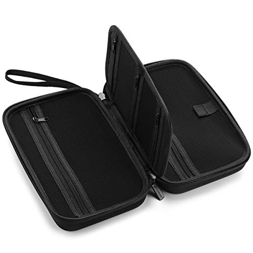 """Caseling Universal Electronics/Accessories Hard Travel Organizer Carrying Case Bag, 9.8"""" x 5.6""""x..."""