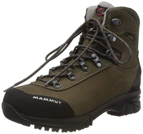Mammut Damen Trovat Advanced High GTX Trekking- & Wanderstiefel, Braun (Bark/Grey 000), 41 1/3 EU