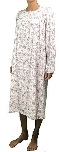 92427 Linclalor Camicia da Notte Caldo Cotone Art