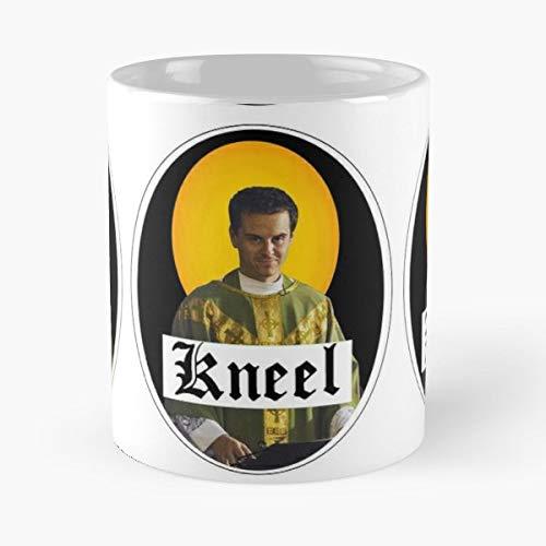 Fleabag Sexy Priest Kneel Waller Bridge Andrew Scott Sherlock Coffee Mugs Set Best 11 oz Kaffee-Becher - Tasse Kaffee Motive