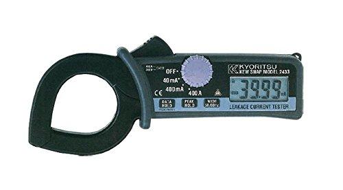共立電気計器 (KYORITSU) 2433 キュースナップ・漏れ電流・負荷電流測定用クランプメータ