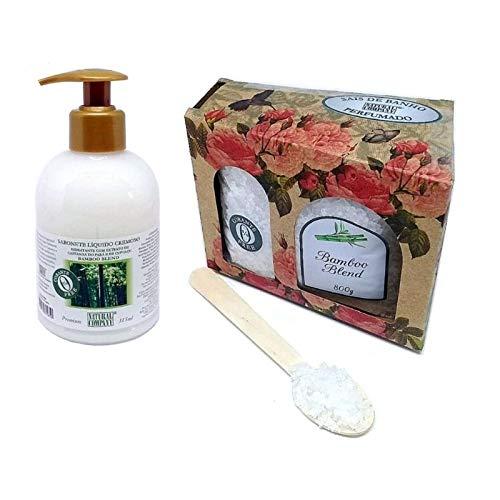 Kit Sais de Banho + Sabonete Líquido - Bamboo Blend