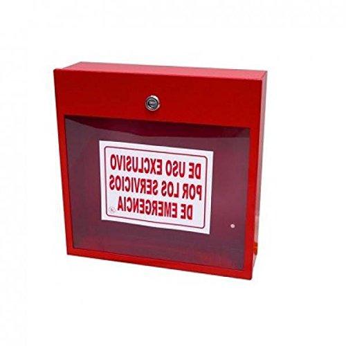 FireFox 0004191 platte kast, rood, 40 x 30 x 10,5 cm