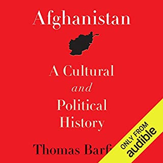 Afghanistan audiobook cover art