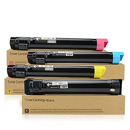 RRWW 006R01395 006R01396 006R01398 006R01397 Cartucho de tóner, caja de tóner de repuesto para Xerox WorkCentre 7425 7428 7435, paquete de 4
