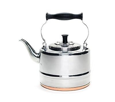 BonJour 2-qt. Stainless Steel Teakettle