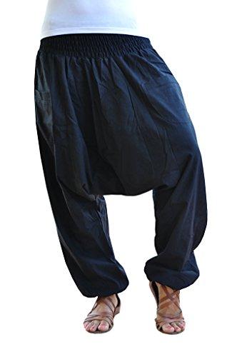 virblatt – Yogahose Haremshose Damen und Herren Yoga Kleidung - Unüberlegt sc