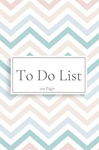 To Do List: Carnet de listes - planning des tâches et notes quotidiennes - 100 pages format 15.24 x 22.86 cm
