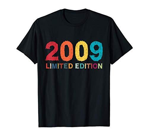 12 Años Cumpleaños Chico Chica Regalo Deco Divertido 2009 Camiseta