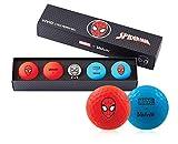 Volvik Marvel Golf Balls – Varios Juegos de Regalo de superhéroes – Spiderman/Hulk/Thor/Black Panther/Captain America/Iron Man
