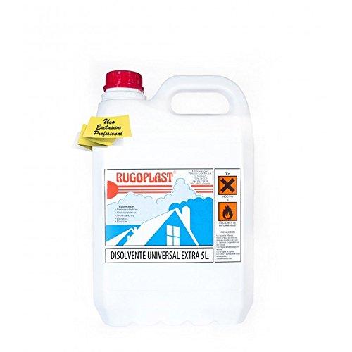 Disolvente universal extra diluyente para pinturas y barnices en general, limpieza de utensilios (5L) Envío GRATIS 24 h.