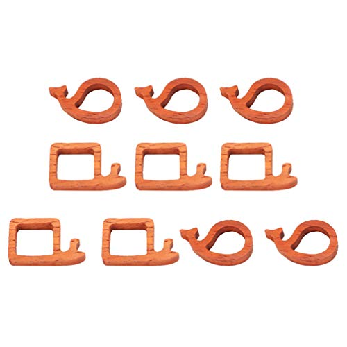 EXCEART 10 Piezas de Marco de Sándalo Molde de Resina Base de Madera Marco de Bisel para Hacer Joyas Colgante de Resina Collar Artesanal DIY