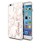 Personalised Marble Hard Phone Case Cover For Apple Samsung