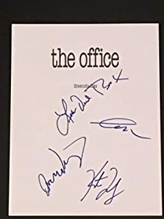 The Office Cast Autographed Signed Diversity Day Script Oscar Creed Meredith Stanley JSA