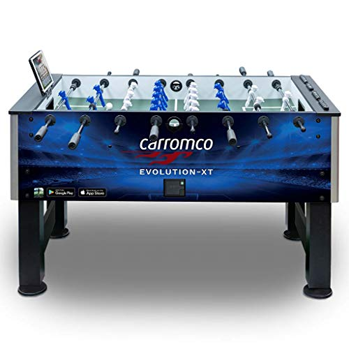 Carromco Kicker Evolution XT mit App Turnier Tischfussball