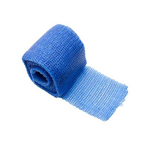 Orthopaedic Casting Tape FIBERGLAS | Gips Verband Cast Material Stützverband | Farbe: blau (1)