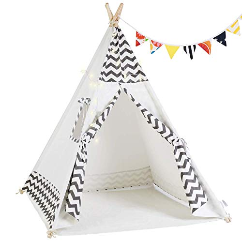 Why Choose OlarHike Teepee Play Tent for Kids, Girl and Boy, Durable Baby Toddler Tents with Window,...