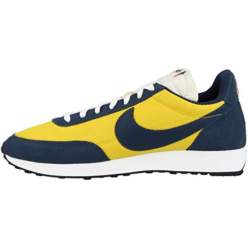 Nike Air Tailwind 79, Chaussure de Course Homme, Speed Yellow Midnight Navy White, 42.5 EU