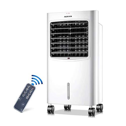 Raffreddatore d'aria portatile con telecomando e display a LED, velocità della ventola per 3 funzioni, riscaldamento per l'inverno, refrigeratore per l'estate, adatto per uso domestico o in ufficio, b