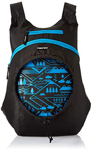 Gear Carryon Backpack Black- Blue (BKPCARYON0110)